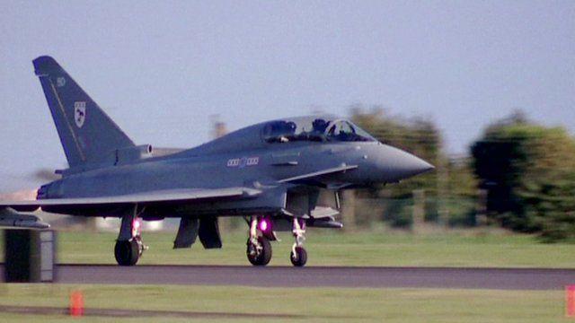 Fighter jet F35B