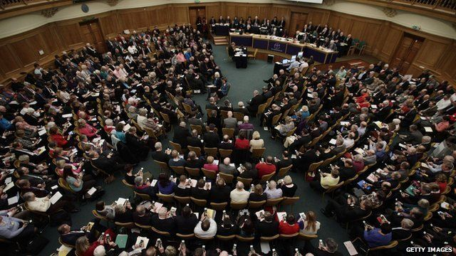 GV of General Synod in Session