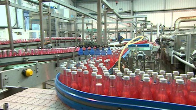 Production of cordial has soared to more than 20 million bottles a year at the East Midlands firm