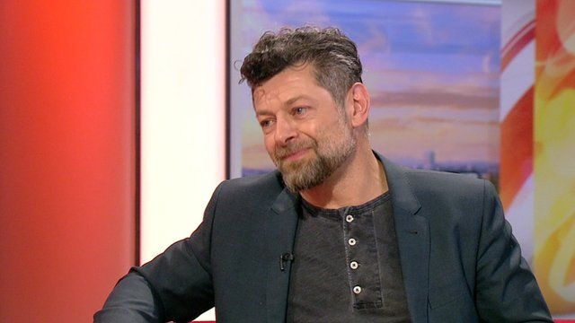 Andy Serkis on BBC Breakfast