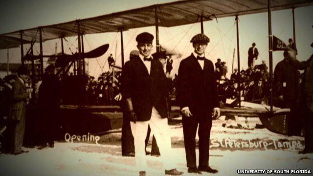 First commercial passenger flight