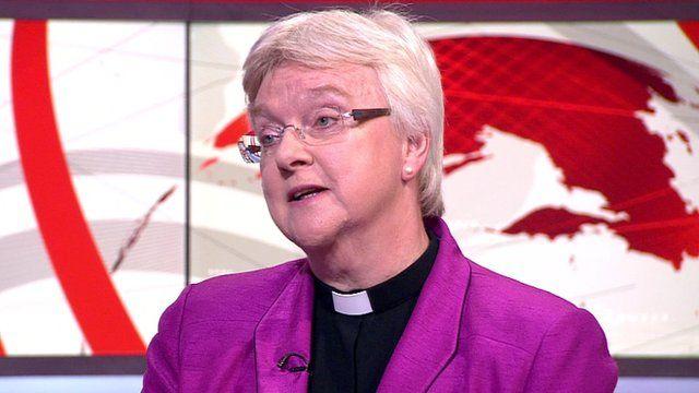 The Dean of Salisbury, the Very Reverend June Osborne
