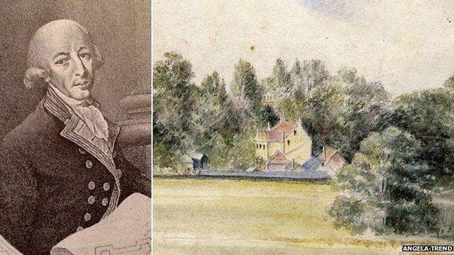 Arthur Phillip lived at Vernalls near Lyndhurst before leading the First Fleet to Australia