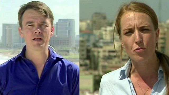 James Reynolds reports from Tel Aviv and Yolande Knell reports from Gaza