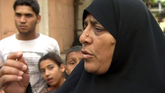 Gaza Strip residents speak to the BBC's Lyse Doucet