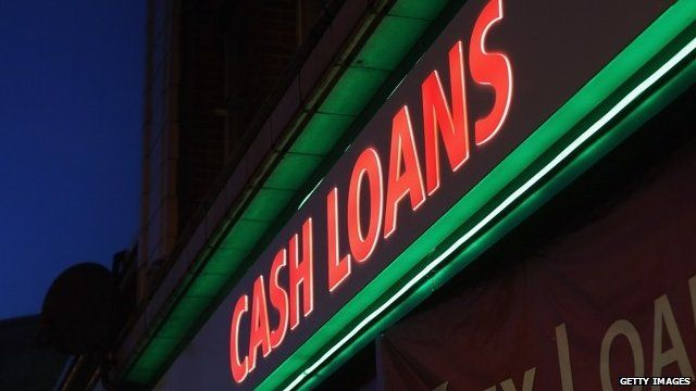 Cash loans sign