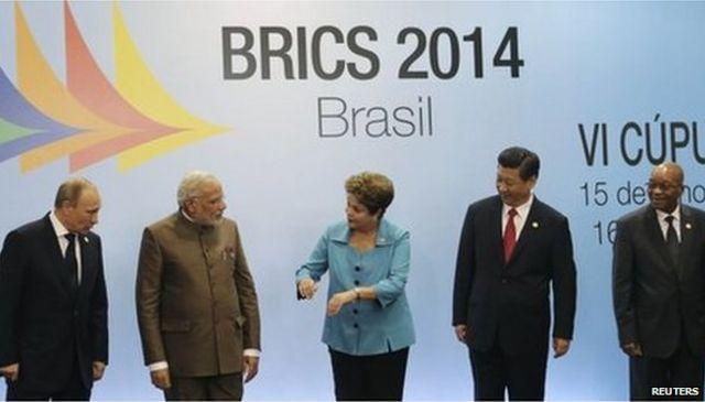Brics nations to create $100bn development bank