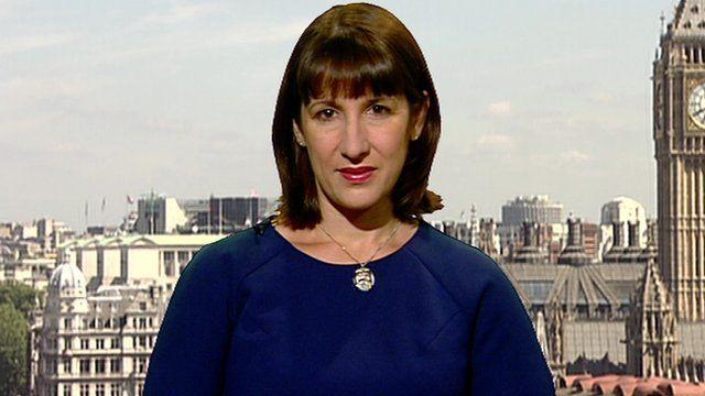 Shadow work and pensions secretary Rachel Reeves
