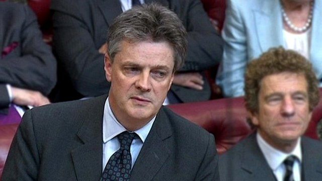 Lord Hill in House of Lords in July 2014