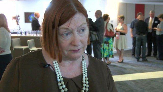 Welsh Transport Minister Edwina Hart