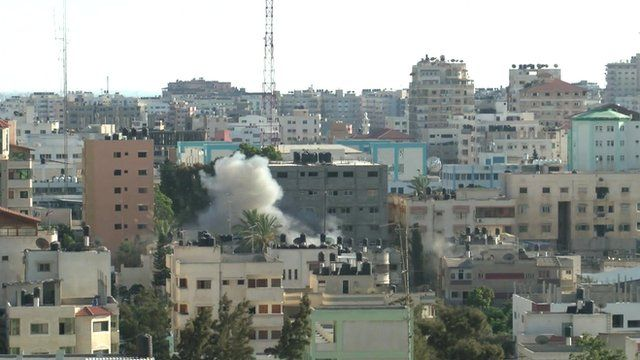 Israeli strike on Gaza