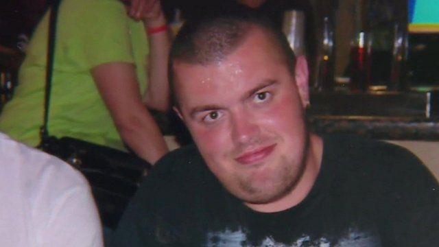 Photo of plane passenger Liam Sweeney