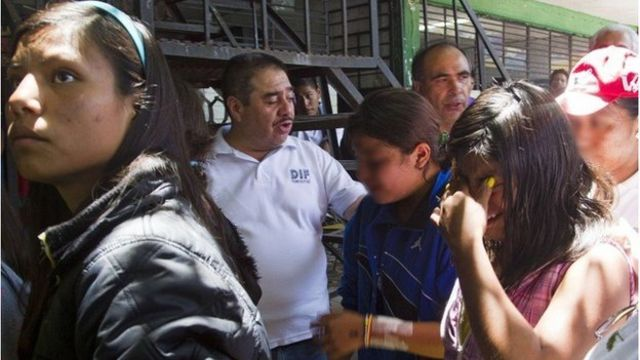 Mexico home: Authorities begin transfer of children
