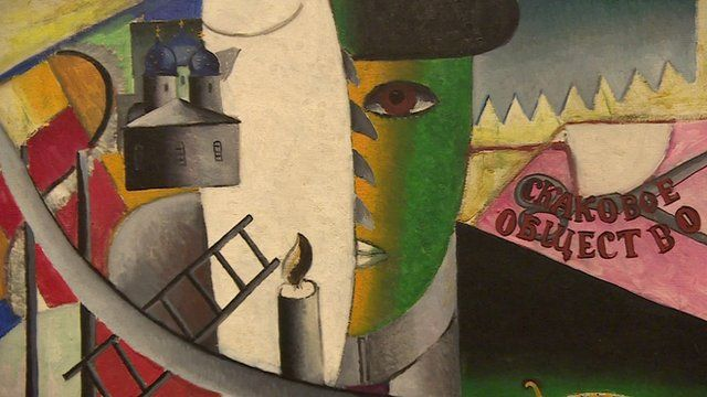 Malevich's revolutionary art on display in London