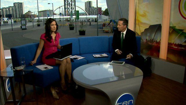 Australian broadcasters in Glasgow