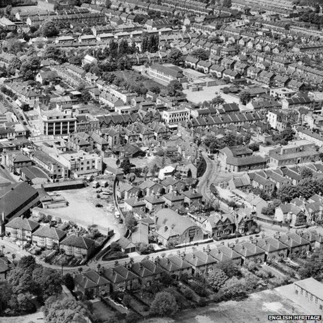 WW1: Aerial images reveal World War One's UK footprint