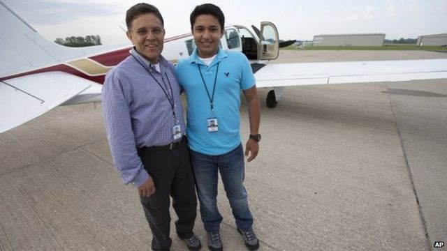 Haris Suleman dies in crash during around-the-world flight