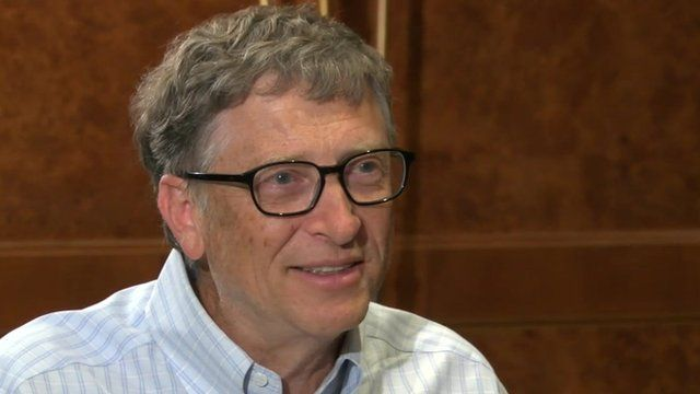Bill Gates talks Africa with the BBC