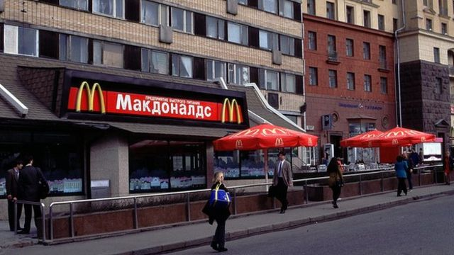 Russia watchdog shuts four McDonald's in Moscow