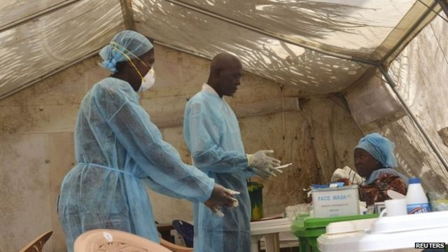 Nigeria 'on red alert' over Ebola death in Lagos