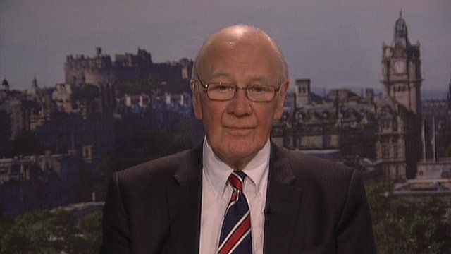Sir Menzies Campbell, Liberal Democrat MP for North East Fife