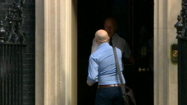 Letter handed in at Downing Street