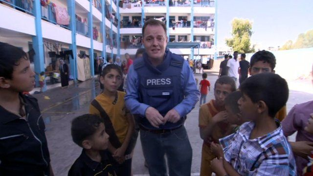Martin Patience in Gaza