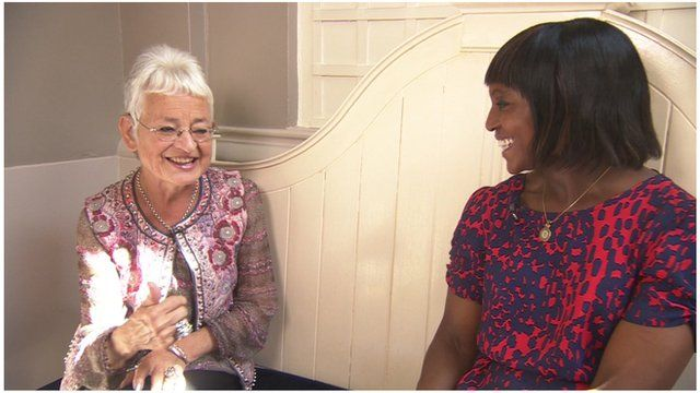 Dame Jacqueline Wilson tells Brenda Emmanus she is 'delighted' by the stage version of her book