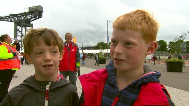 Young fans react to Usain Bolt's reported criticism of Glasgow and the Commonwealth Games