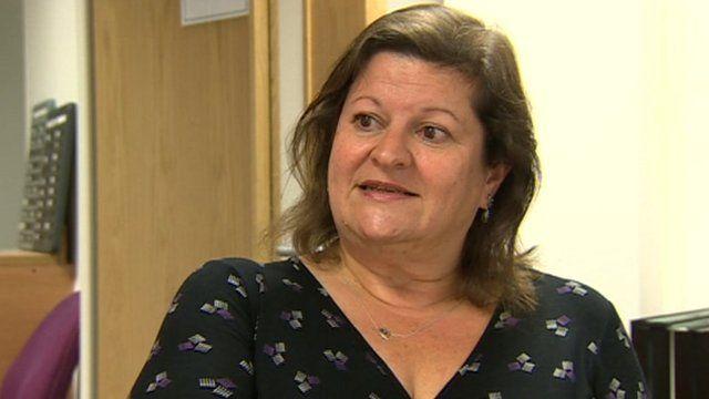 Linda Bailey of Public Health Wales