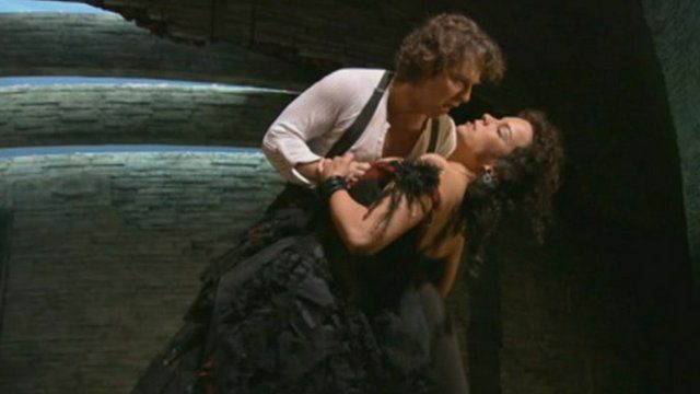 Scene from Carmen at the Metropolitan Opera