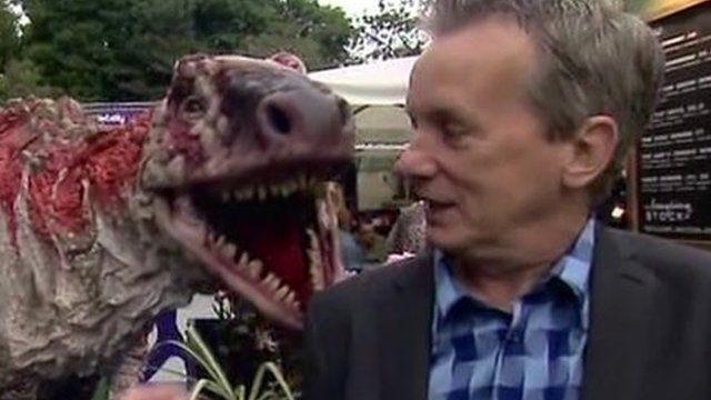 Frank Skinner at the Edinburgh Fringe Festival