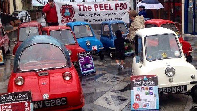 Rare P50 cars gather on Isle of Man