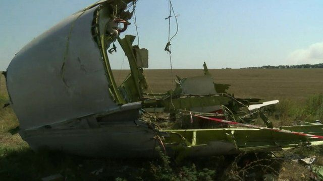 Debris from MH17
