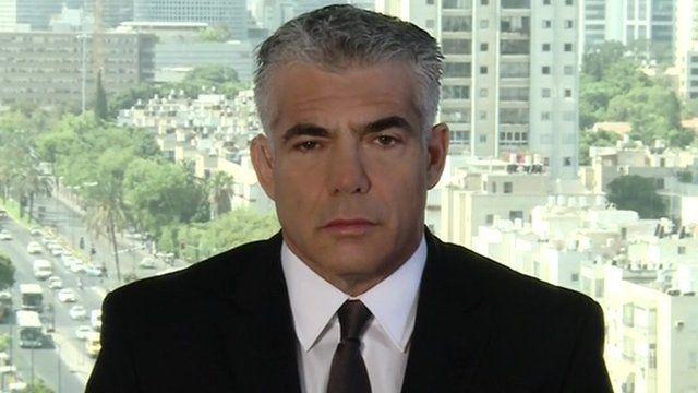 Israeli Minister of Finance, Yair Lapid