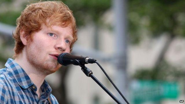 Ed Sheeran continues UK chart reign