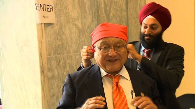 Congressman Mike Honda and Jasjit Singh