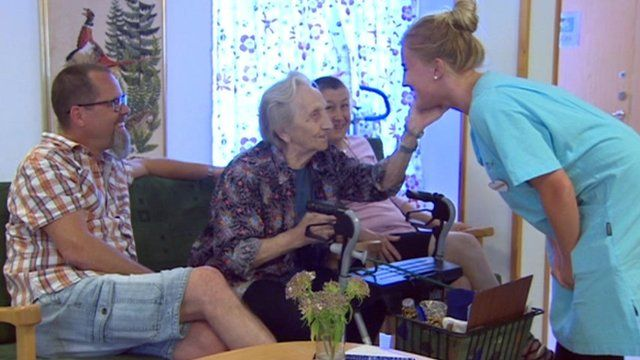How Sweden cares for its elderly population
