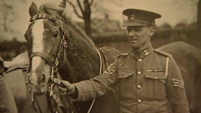 Songster during World War One