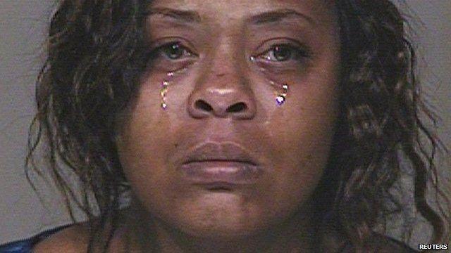 Police mugshot of Shanesha Taylor