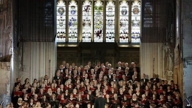 Choral diplomacy: When Germany and UK united in song