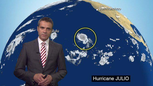 BBC Weather's John Hammond