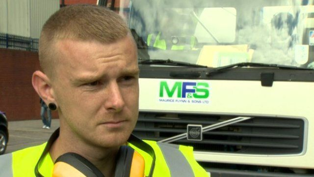 Paul Kayes, who works for MFS, says he will be looking for a new job in the coming weeks