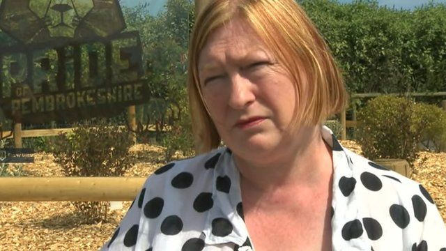 Tourism Minister Edwina Hart