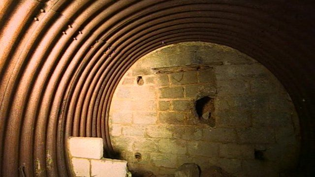 A bunker used by Churchill's Secret Army