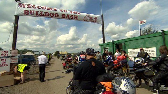 The Bulldog Bash biker event