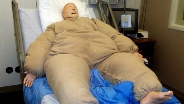 Bariatric simulation suit