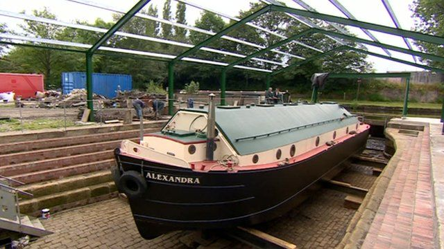 The dry dock will be used to paint and repair boats