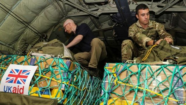 UK aid deliveries in Iraq 'imminent'