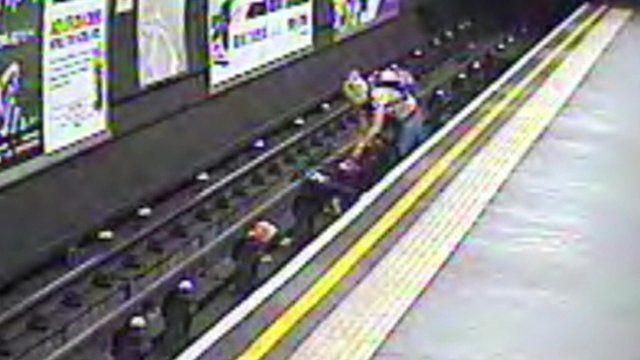 Still from British Transport Police CCTV footage